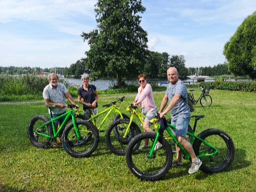 Rent a bike and explore the Askersund area