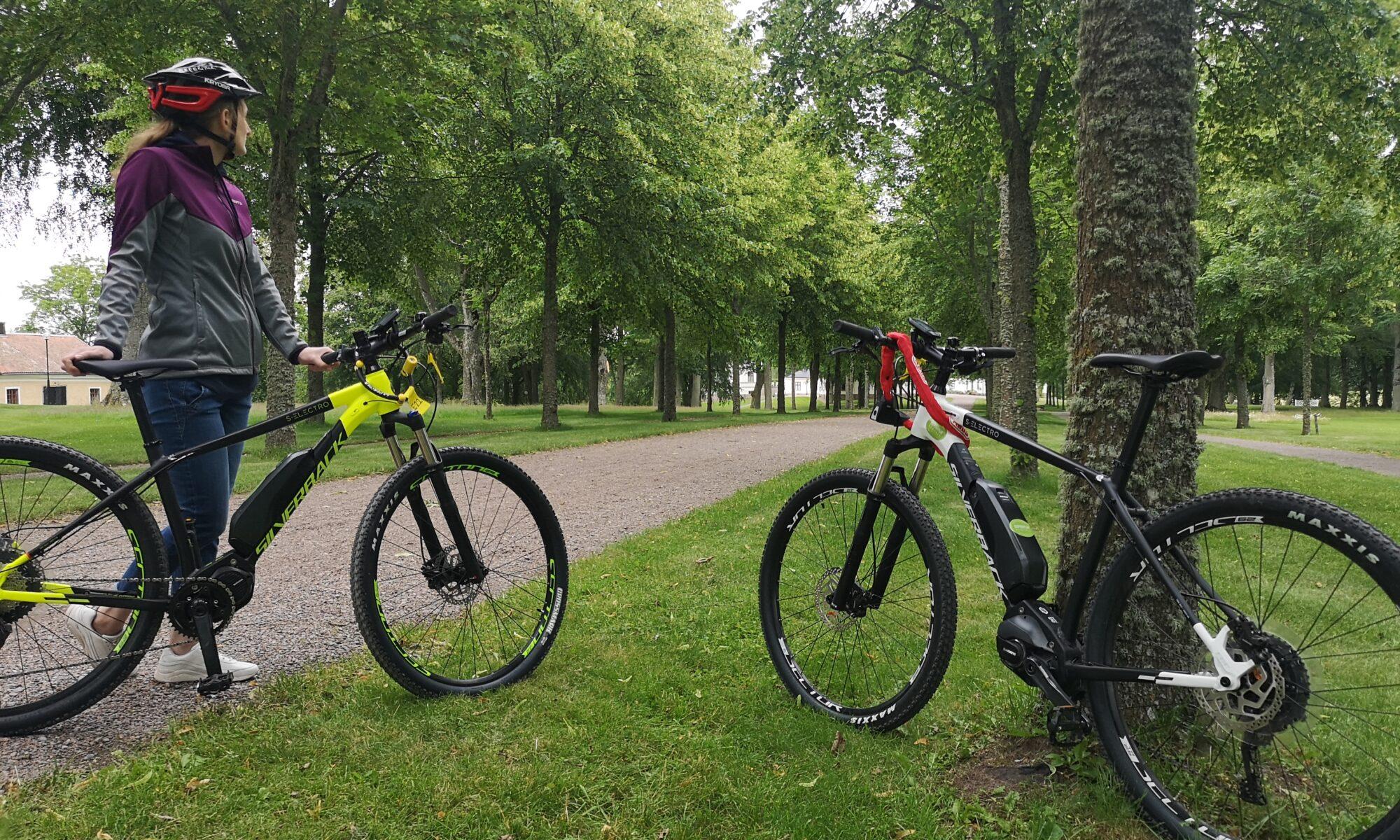 Rent e-mountainbike in Askersund and Örebro